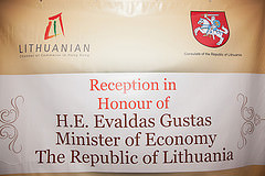 The official launch of the Lithuanian Chamber of Commerce in Hong Kong.