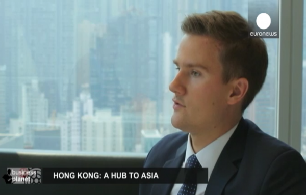 Lithuanian Chamber of Hong Kong was featured in Euronews